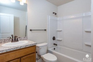 Hall Bathroom- middle unit