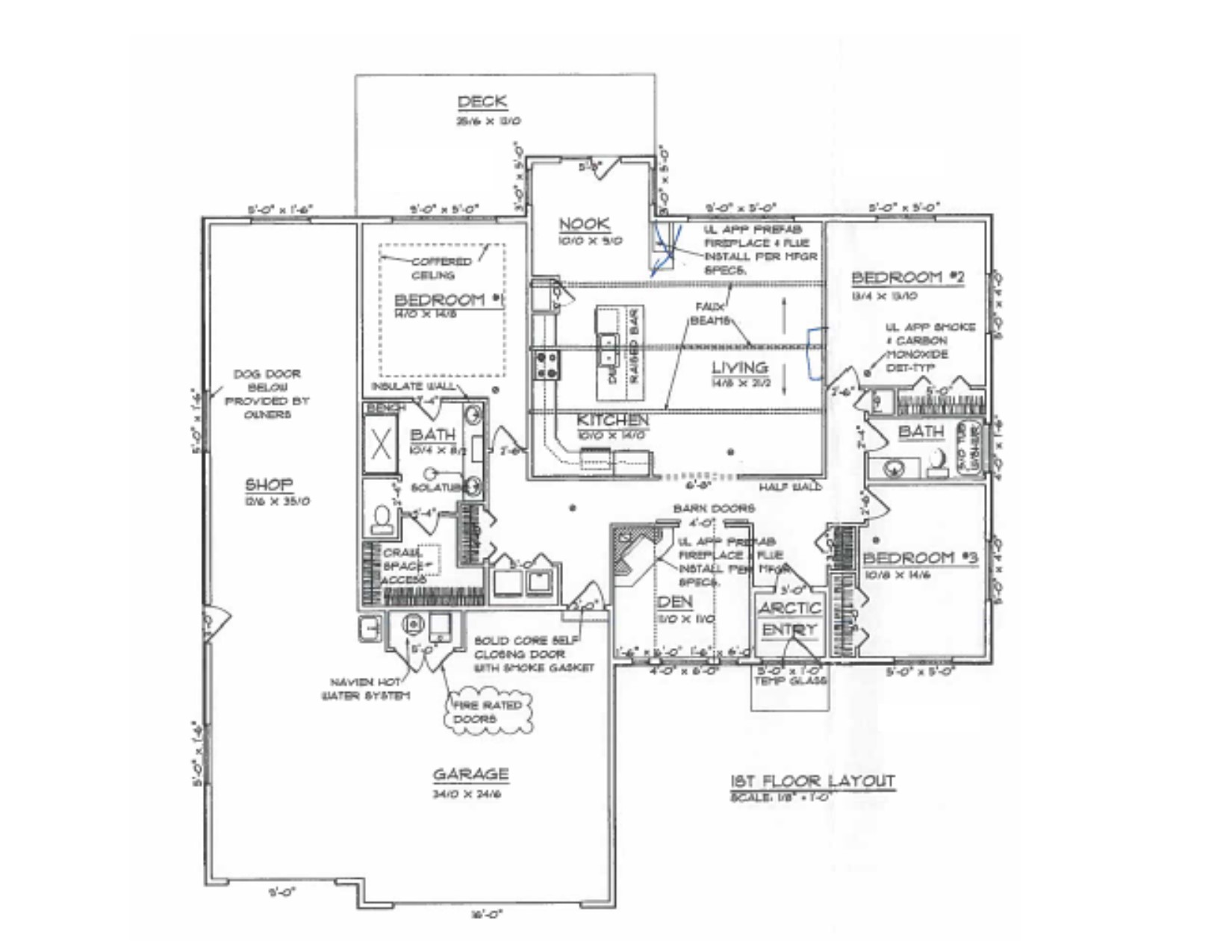 ranch floor plans open concept completely plan skyrim open house pick of the week kailua real estate april 2013