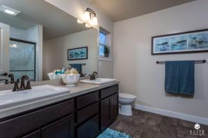 MAster Bathroom- end unit