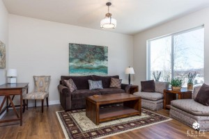 Living Room- middle unit
