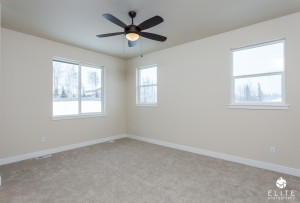 The Susitna (right unit)- Master Bedroom