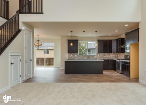 The Grand Oak- Kitchen/Dining Room from Great Room