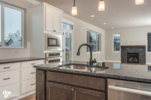 Cedar Kitchen/Living Area